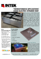 Thermoforming with Infrared