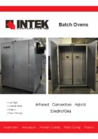 Batch Oven Brochure 2017
