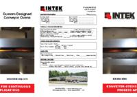 Conveyor Oven Brochure 2017